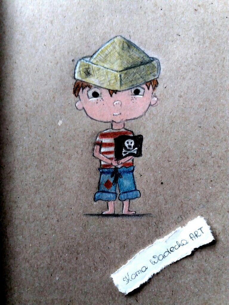 #Little #boy #drawing