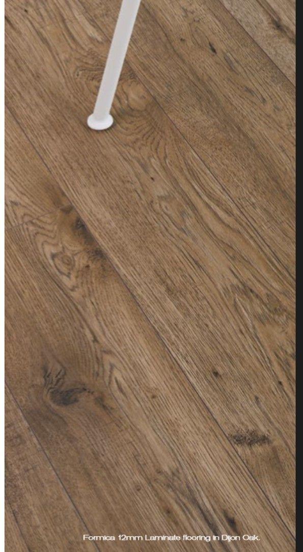Formica 12mm Premium Dijon Oak Laminate Flooring. Cheap BathroomsTile ...
