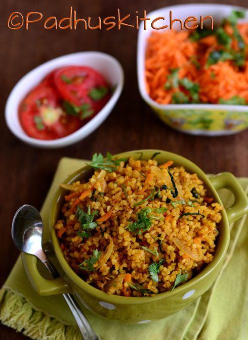 Bulgur Biryani Recipe East Indian Food Pinterest Recipes