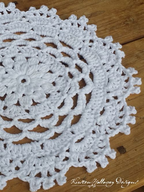 Pattern Garden Party Placemat Doilies And Runners Pinterest