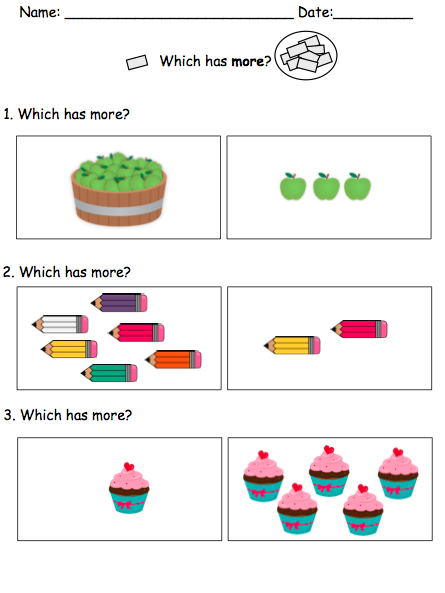 Visual Math Activities For Children With Autism Math For