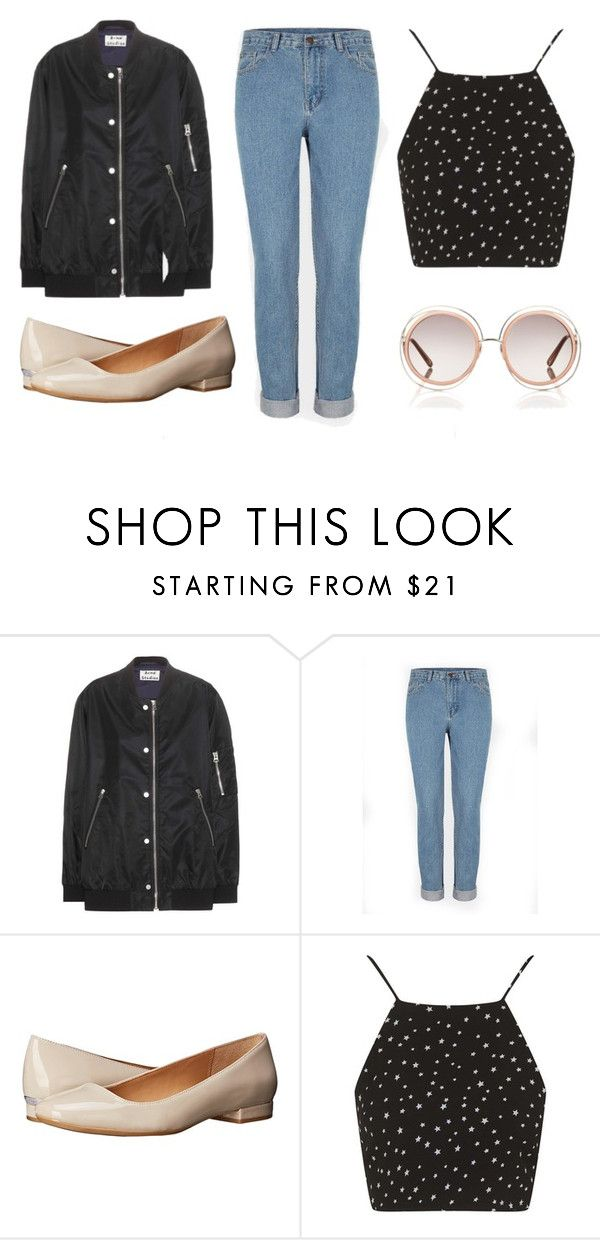 """""""Untitled #2"""" by ermler12347 ❤ liked on Polyvore featuring Acne Studios, Calvin Klein, Topshop, Chloé, women's clothing, women, female, woman, misses and juniors"""
