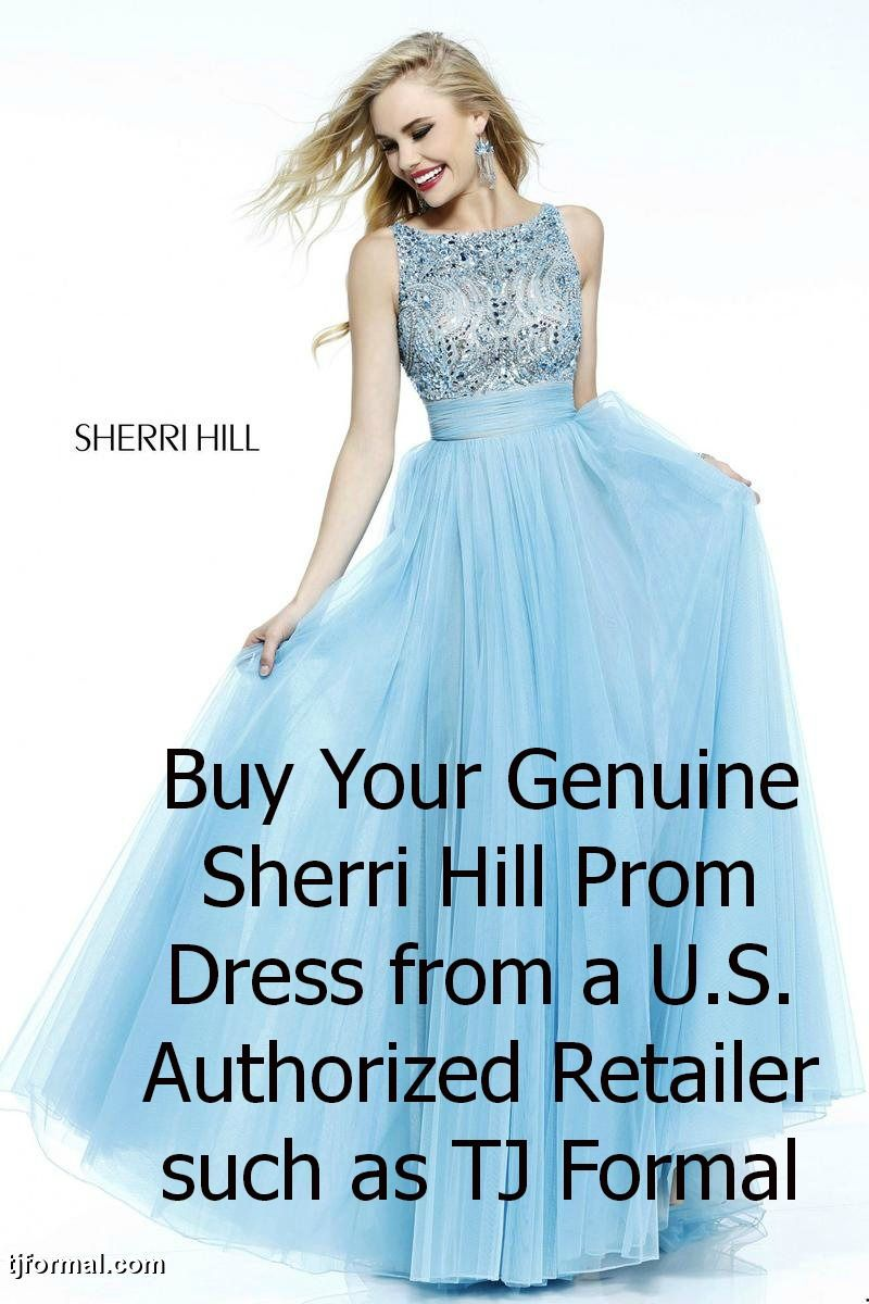 Don\'t be caught wearing a fake Sherri Hill prom dress! Buy a real ...