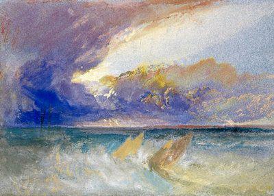 Sea View by Joseph Mallord William Turner