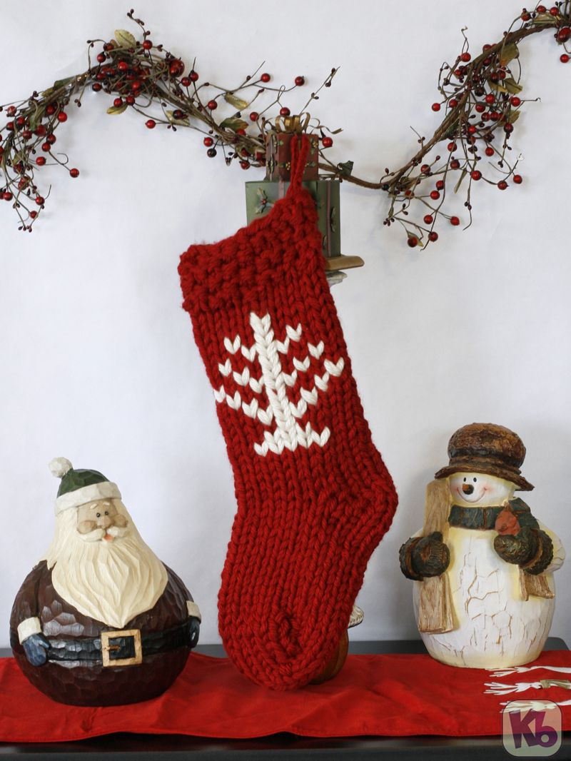 Zippy Christmas Stocking Free Pattern | Free Knitting Loom Patterns ...