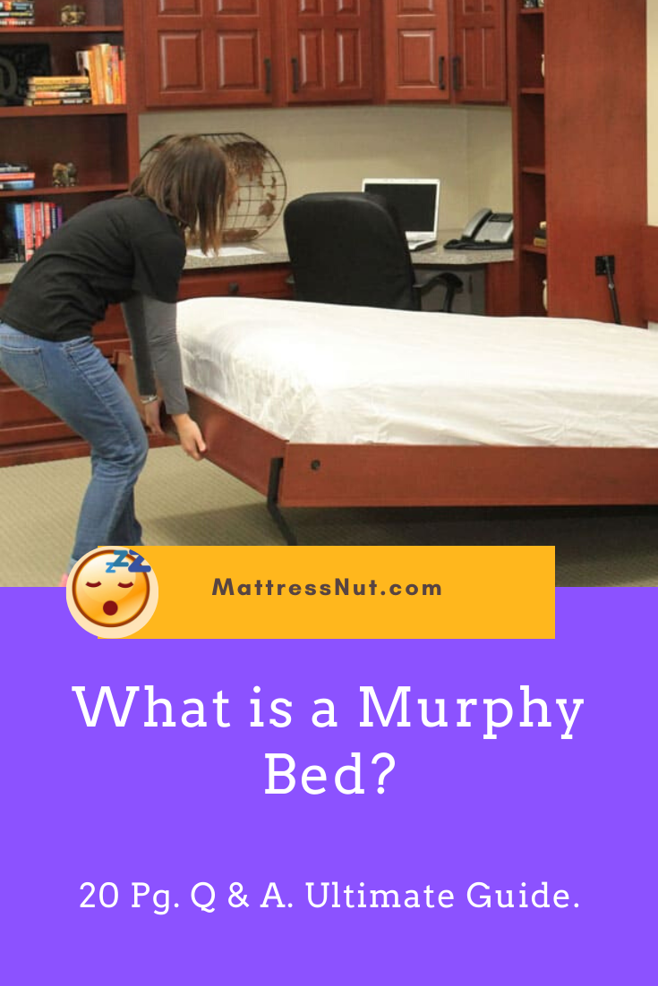 What is a Murphy Bed? Mattress Thickness? 20 Pgs Q&A and