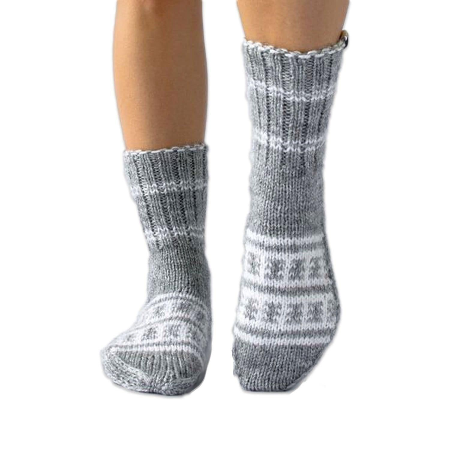 Shanti (Peace) Socks - Adult Extra Small (8)