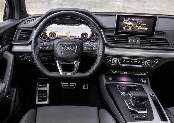 Interieur audi  2017 Audi Q5 Engine Interior | AUDI | Pinterest