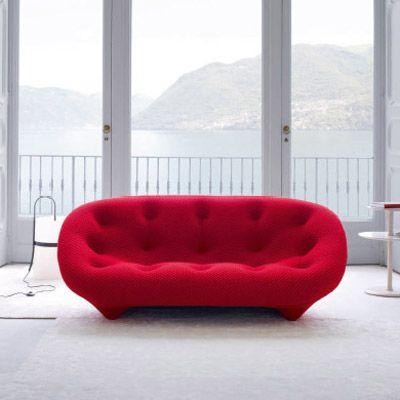 Canape Ploum Ligne Roset Design Freres Bouroullec Sofa Design