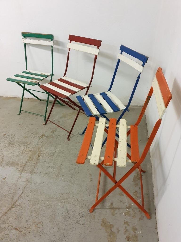 chaise pliante jardin bistrot
