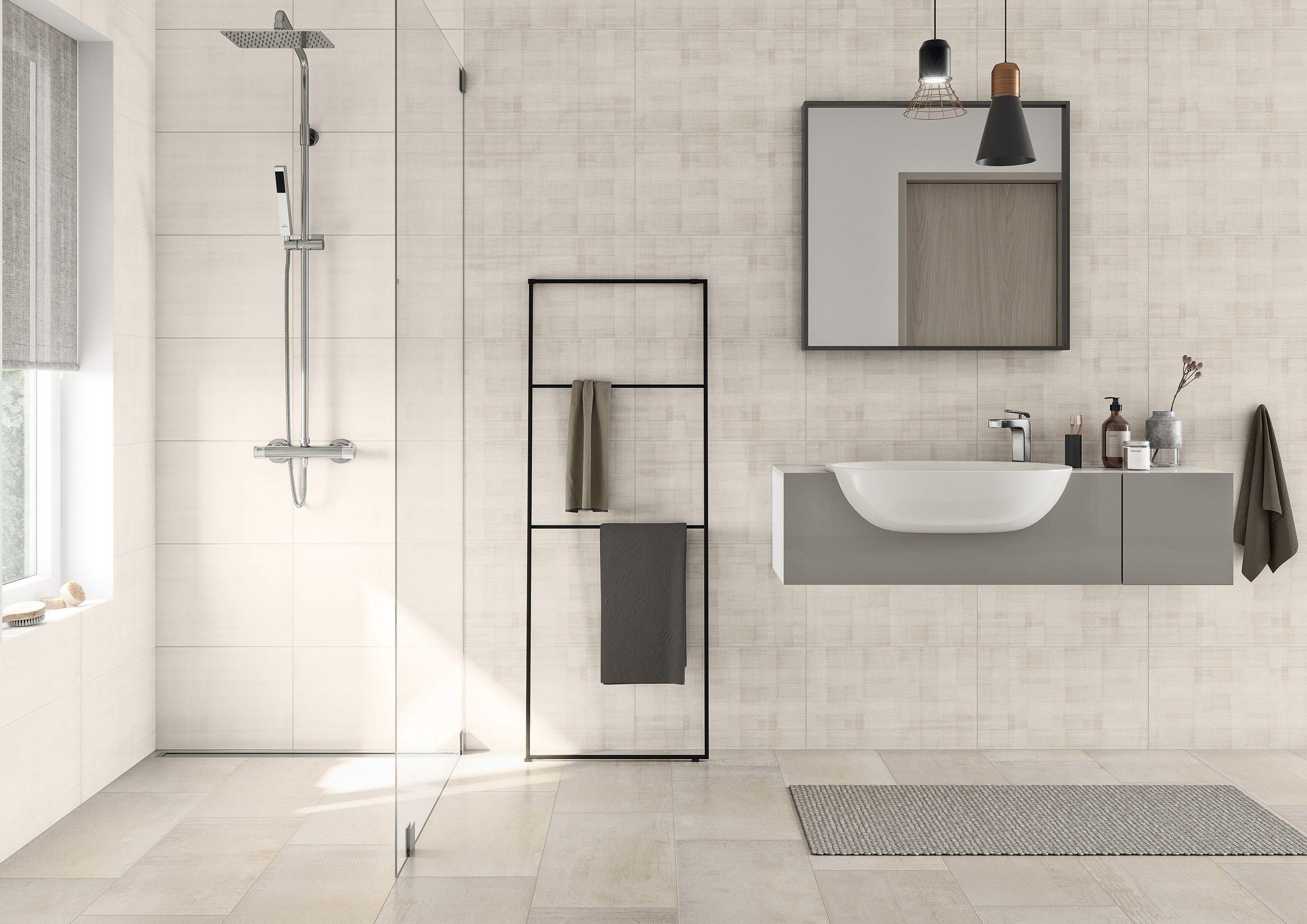 Stofflichkeit Sowohnich Badezimmer Bad Baden Reduziert