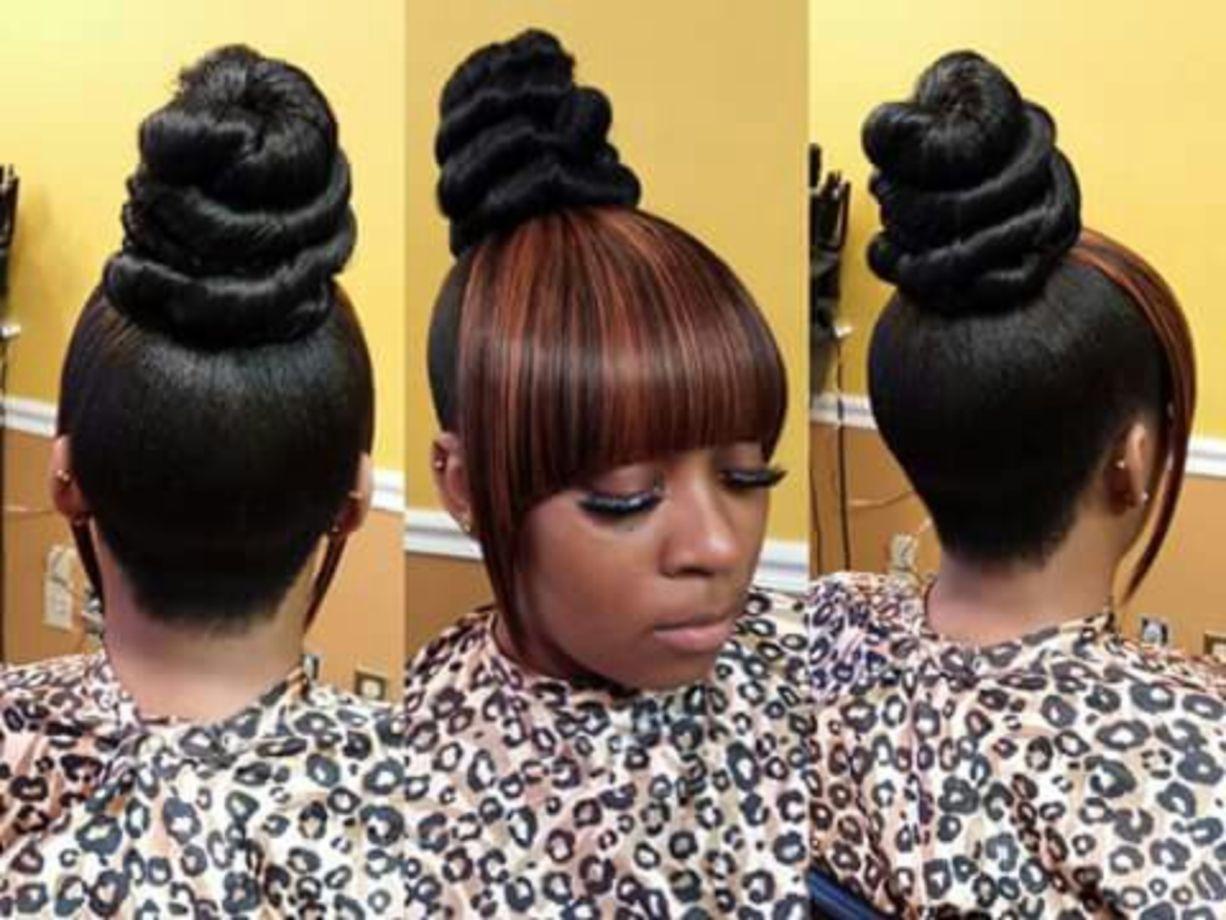 50 Inspiring Wedding Hairstyle Ideas For Natural Black Hair
