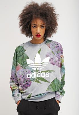 Dames adidas Originals Sweater - multicolor Grijs: 64,95 ...