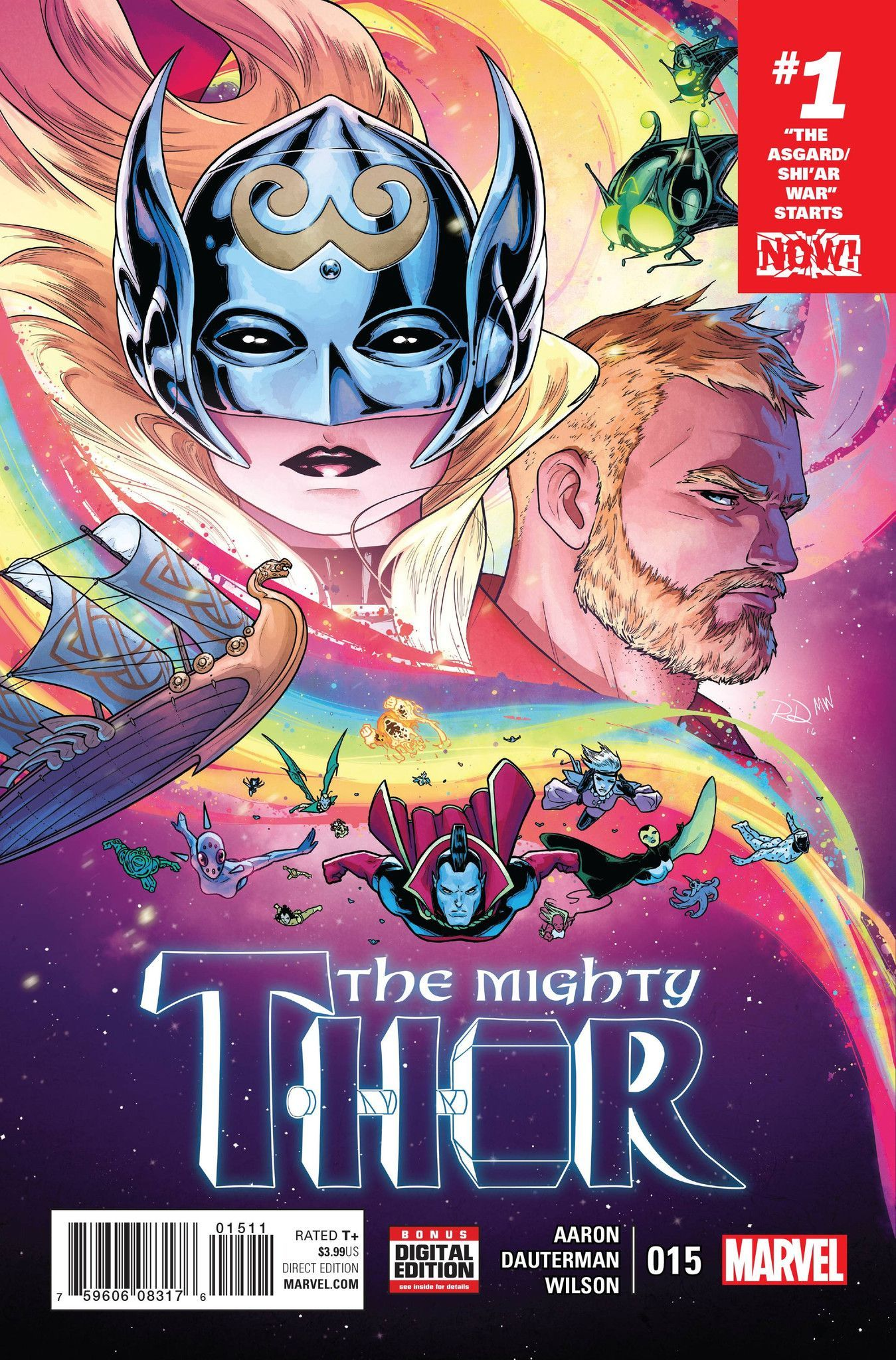 Mighty Thor 15 17 ソー コミック