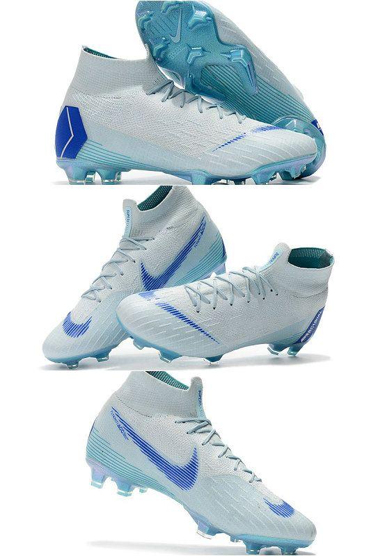 cheap for discount 18906 76a4d Nike Mercurial Superfly VI Elite FG Botas de Futbol - Azul