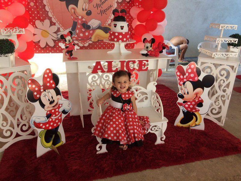 Vestido Da Minnie Vestido De Festa Da Minnie Vestido Infantil