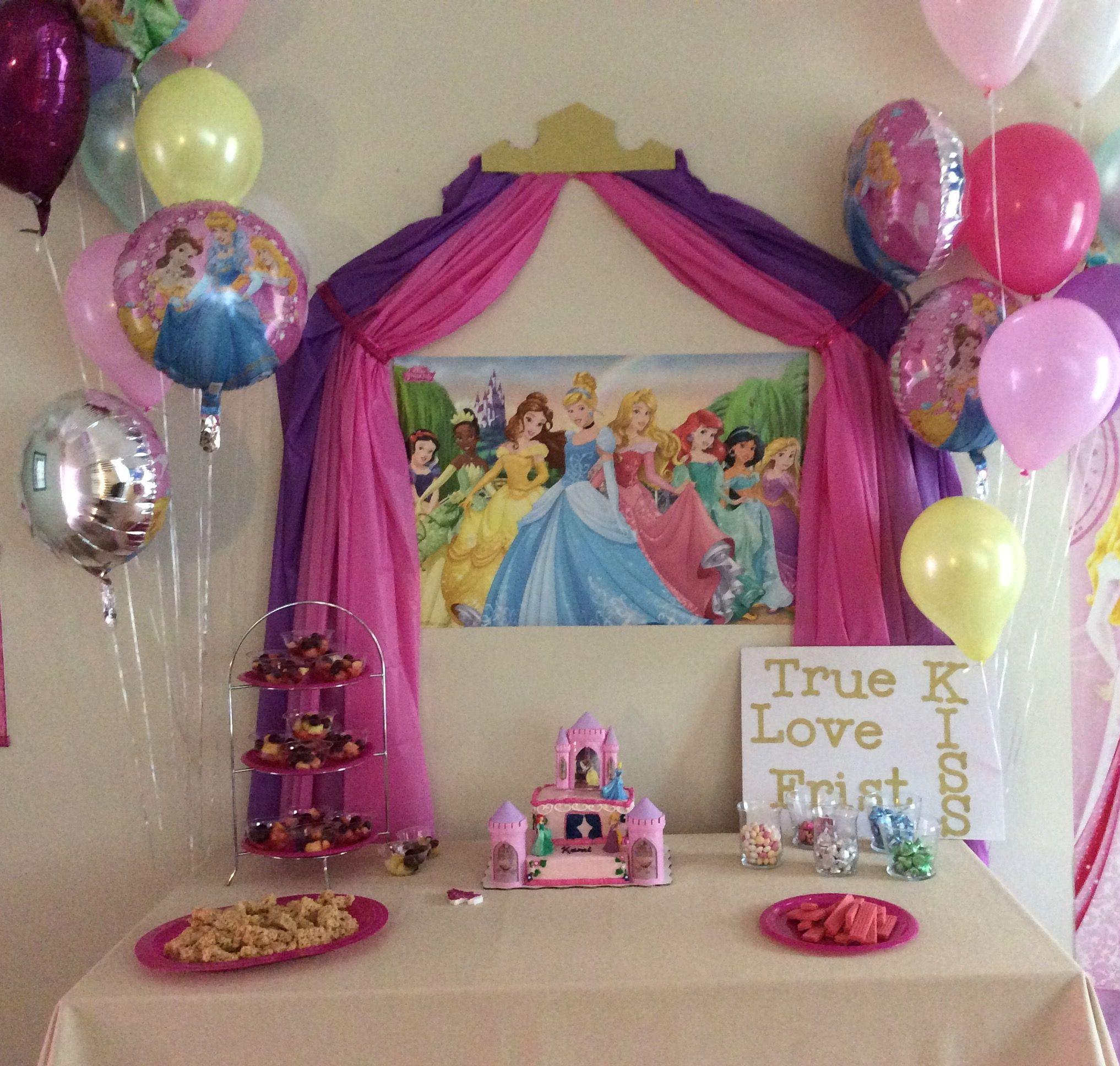 Disney Princess Party Princess Theme Party Princess Party Decorations Princess Birthday Party Decorations