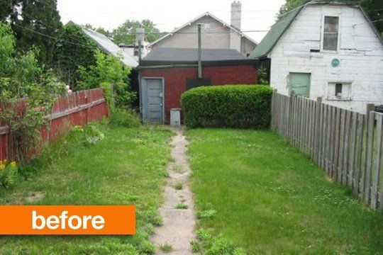 BeforeAfter Empty to Lush BackyardStudios LUSH and Examples
