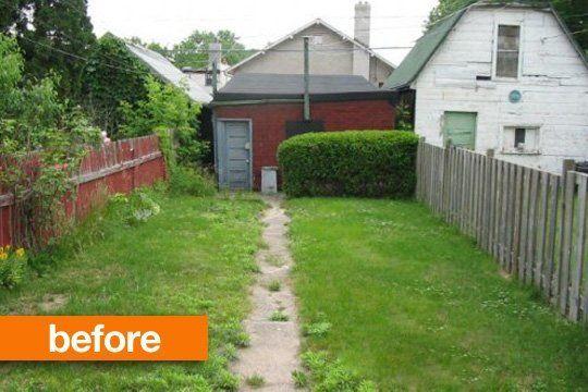 Backyard Garden Ideas Before And After before & after: empty to lush backyard — studio g | backyard