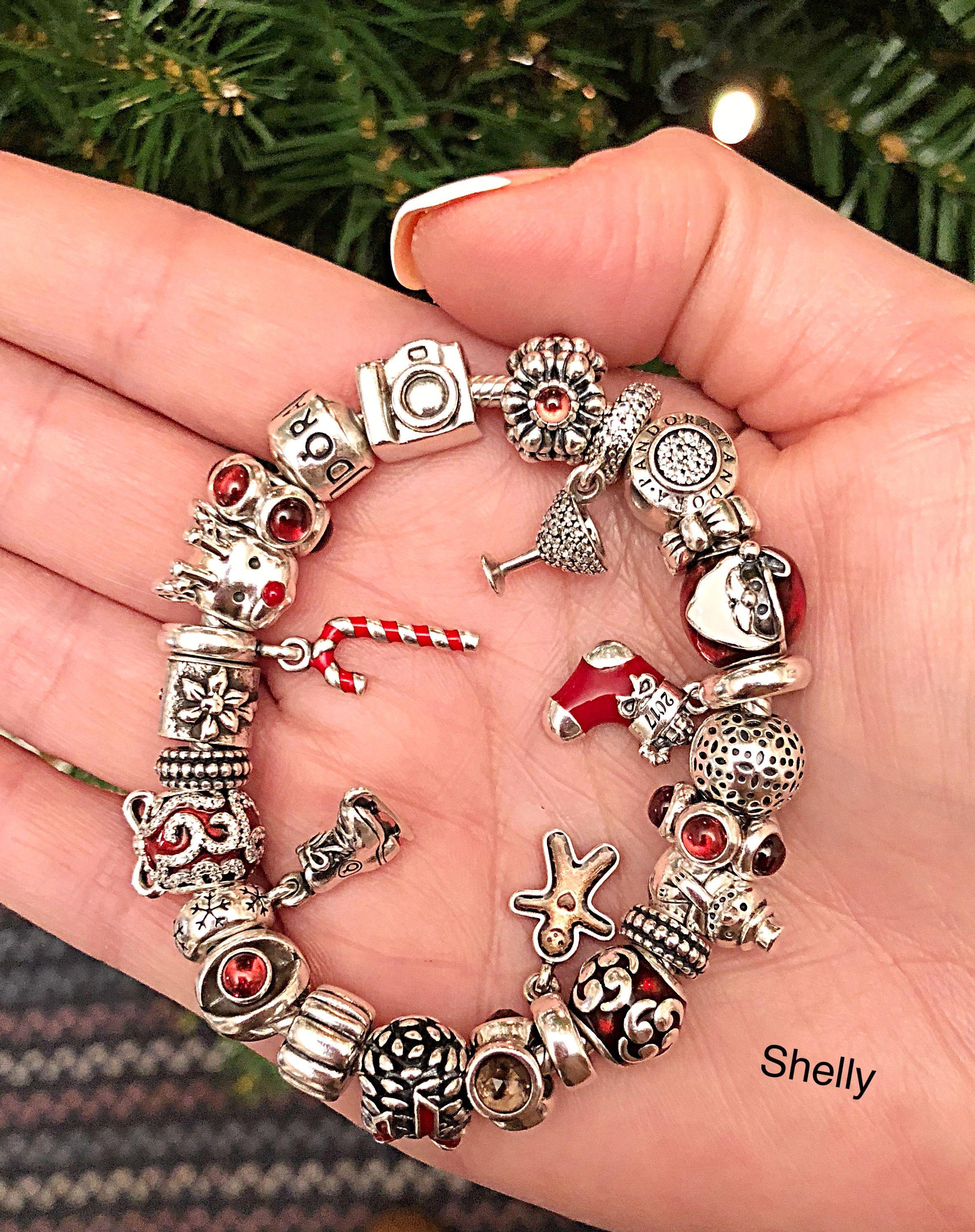 Pandora Christmas Charms 2020 Pandora Christmas bracelet   Pandora bracelet charms, Pandora