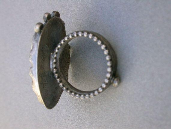 encontró coral declaración moderno anillo oxidada por jaimejofisher