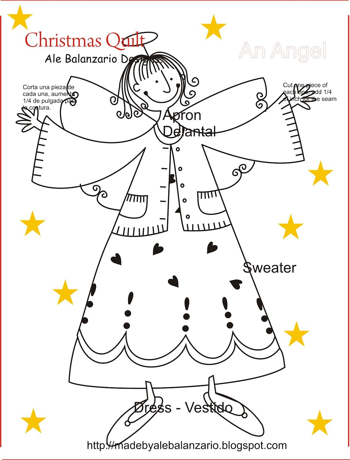 Christmas Quilt, An Angel!   Cross-Stitch and Embroidery   Pinterest ...