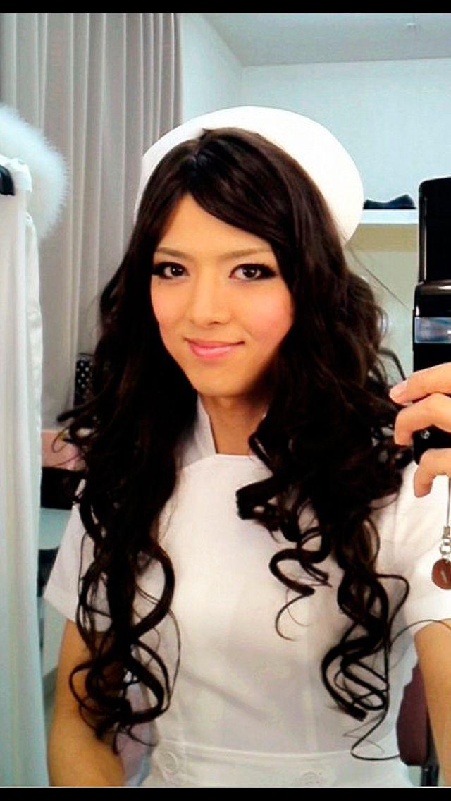 Yasuka Saito   Beautiful TG/CD, androgyny, etc   Long hair ...