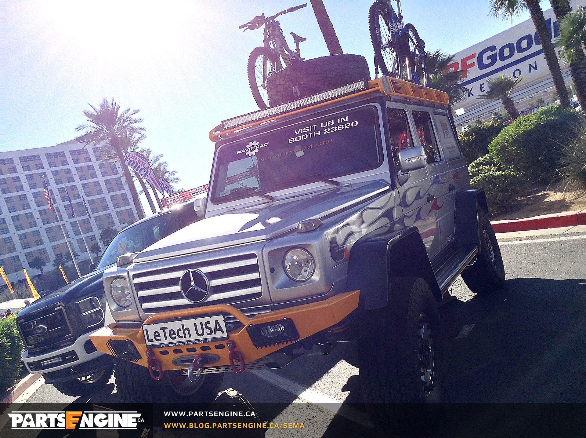 G Wagon Sema 2014 New Mercedes G Class Portal Axle System