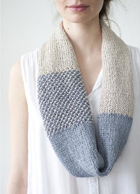 Inspiración bufandas de colores + dos patrones gratis   Patrón ...