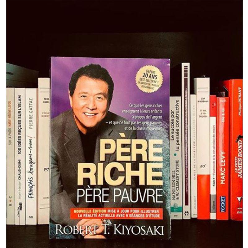 Pere Riche Pere Pauvre Robert T Kiyosaki Education Financiere Enseignement Pere Riche Pere Pauvre