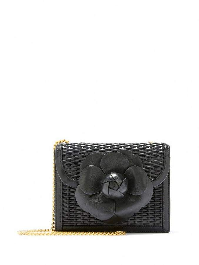 ae2c0e16 Oscar de la Renta Woven Leather Mini TRO Bag in 2019 | Products ...