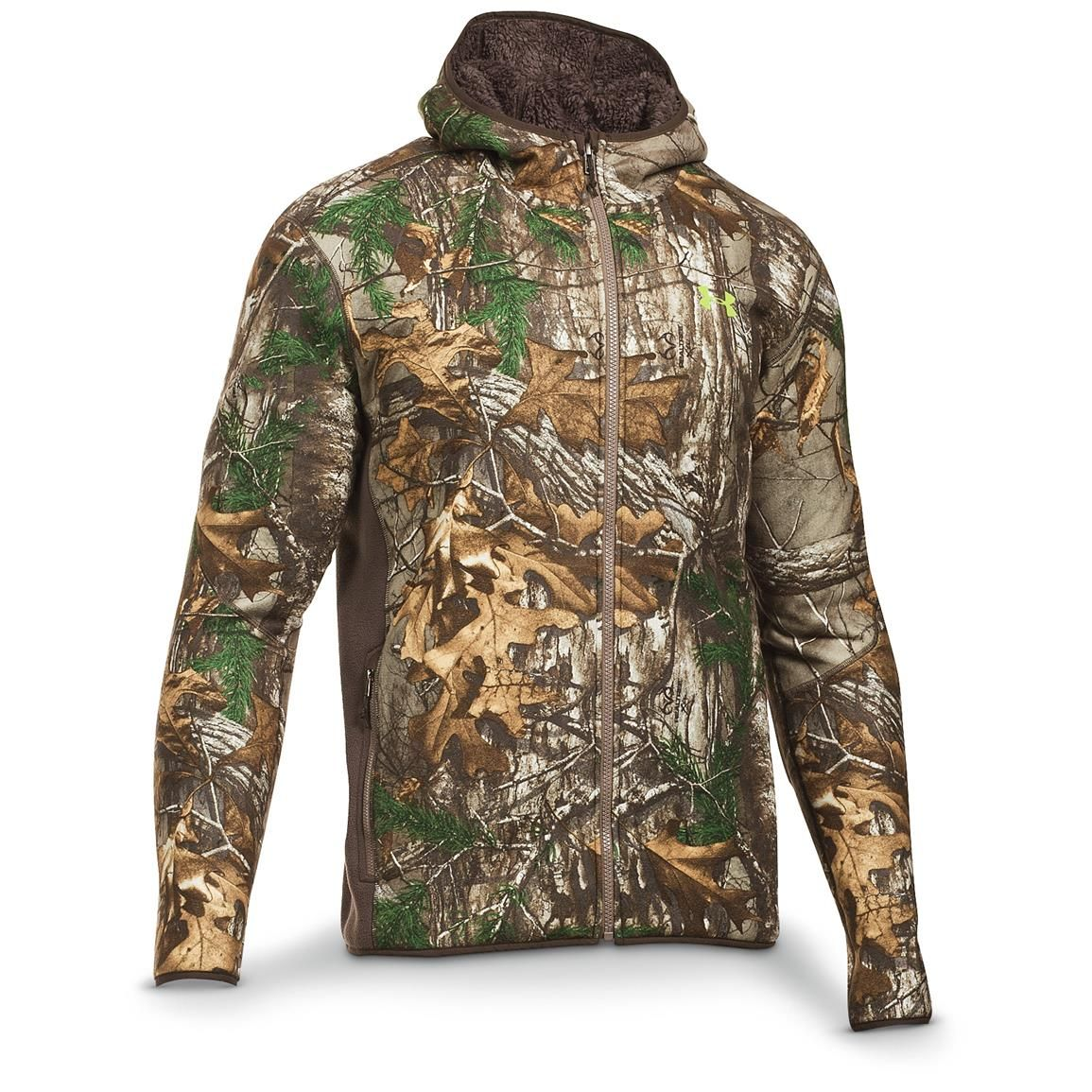 Under Armour Men's Stealth Hoodie, Velocity / Realtree