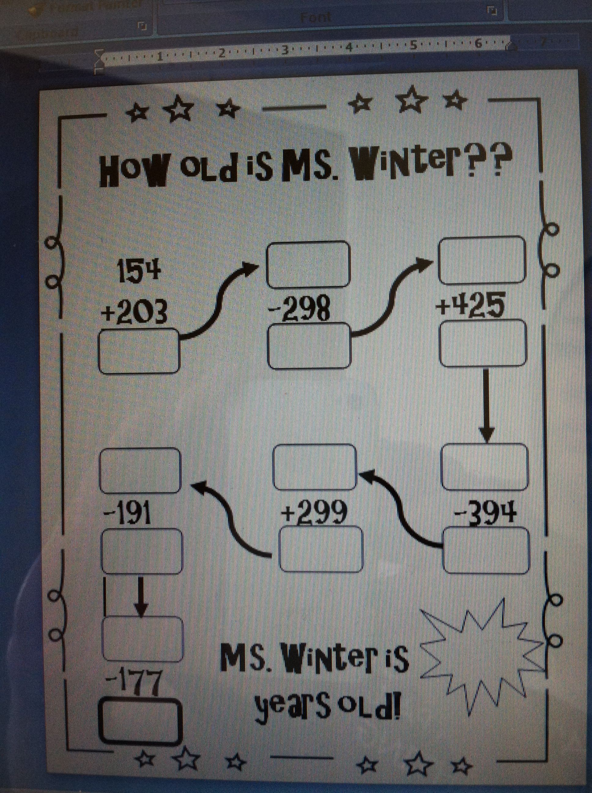 Fun Way For 3 Digit Addition And Subtraction Practice My