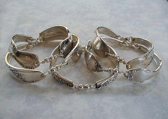 bdb2d7e40 More spoon jewelry ideas   Projects   Spoon bracelet, Jewellery ...