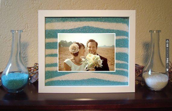 Unity Sand Ceremony Frame Set Via Weddingpinsnet Beach Wedding