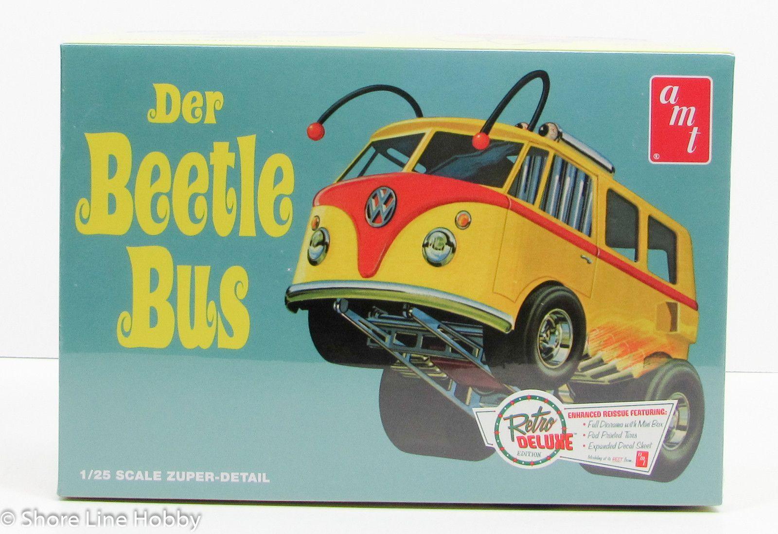 Der Beetle Bus Hot Rod AMT 992 1/25 New Car Model Kit