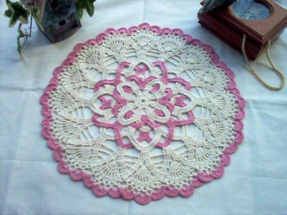 Victorian Rosette Vintage Style Crochet Lace by crochetbymsa, $23.95