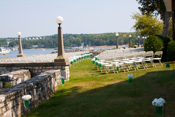 An outdoor wedding at Alpine Resort on a beautiful calm day. | Weddings at Alpine Resort Door County | Pinterest | Door county Outdoor wedding locations ... & An outdoor wedding at Alpine Resort on a beautiful calm day ...