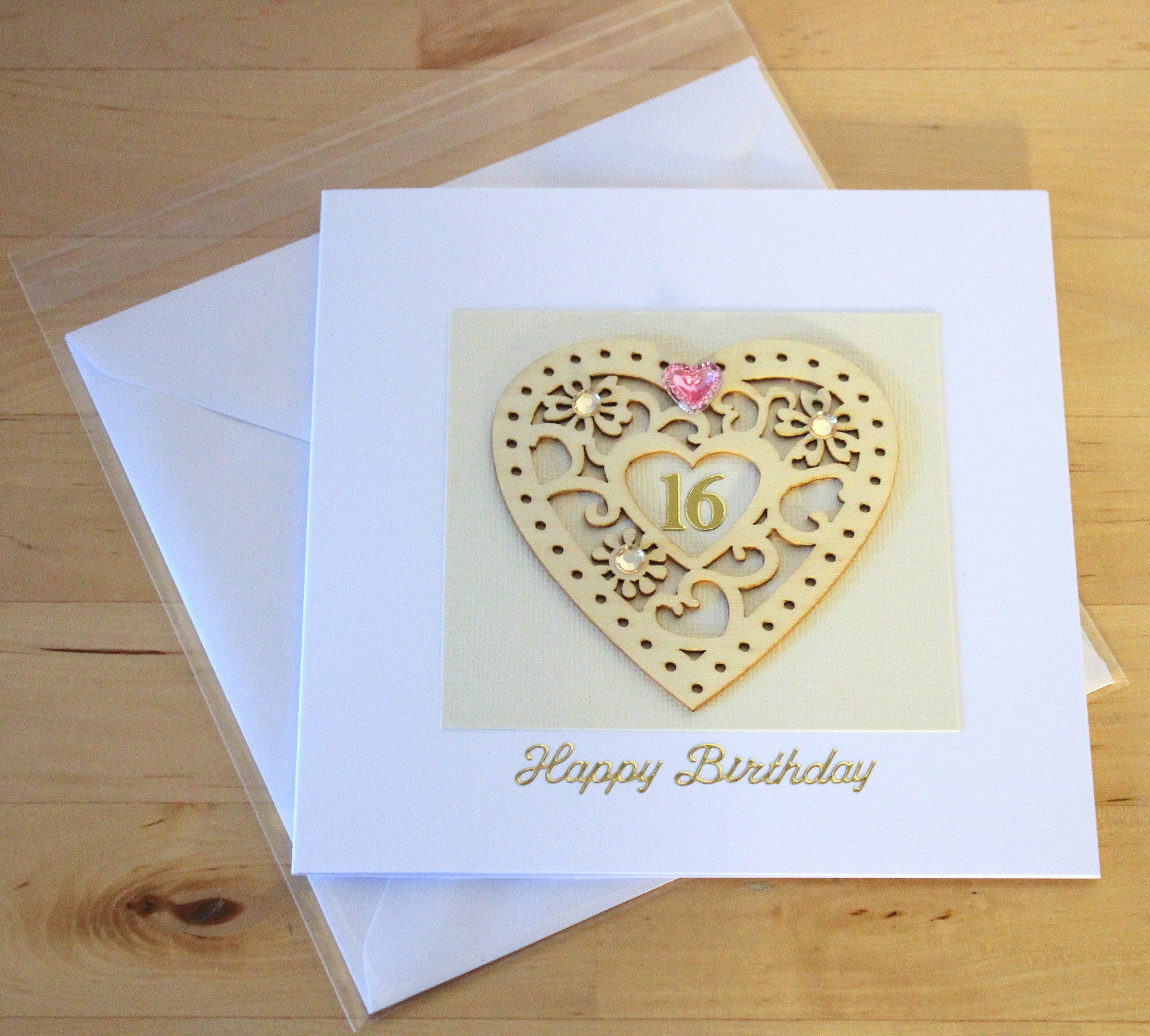 16th Birthday Card Gift Luxury Unique 16th Birthday Card Etsy 16th Birthday Card Birthday Cards Birthday Stickers