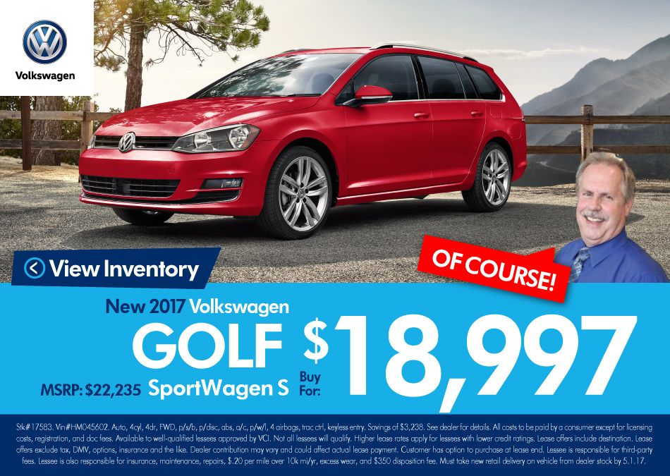 New For 2017 The Golf Sportwagen Is A More Attractive