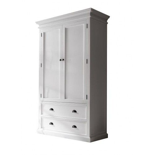 grande armoire de rangement blanche style scandinave meubles scandinaves autres meubles. Black Bedroom Furniture Sets. Home Design Ideas