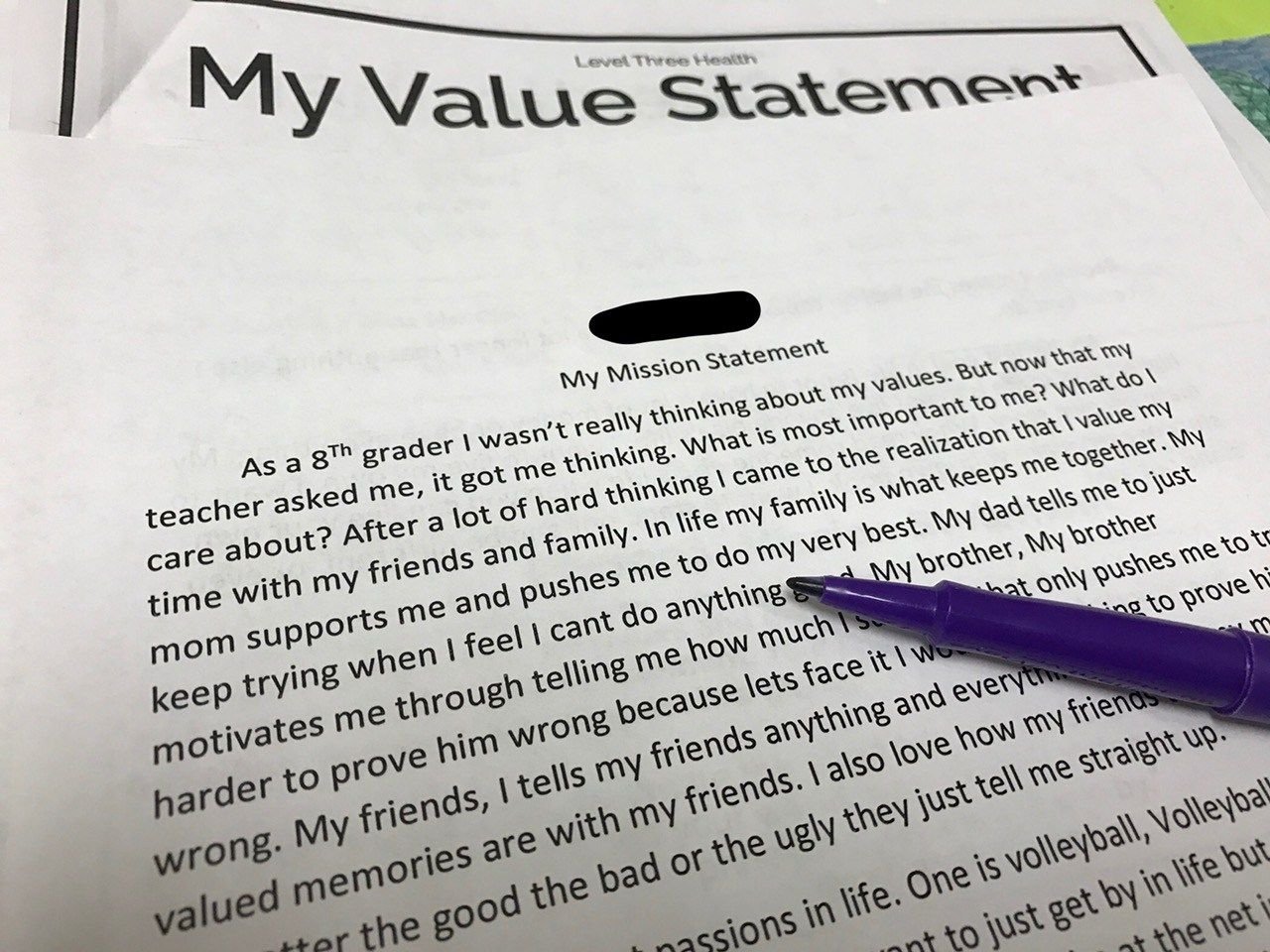 Mission Statements Made Easy - A Middle School Writing ...
