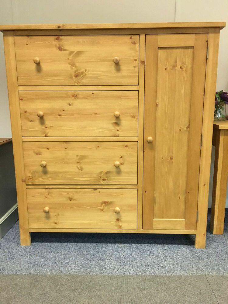 Solid Pine Combination Wardrobe. Children s or Nursery