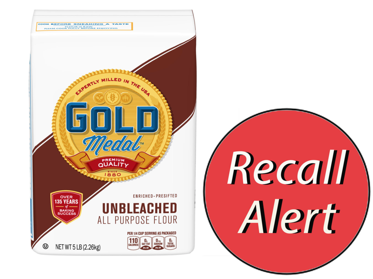 General Mills Recalls Gold Medal Unbleached AllPurpose