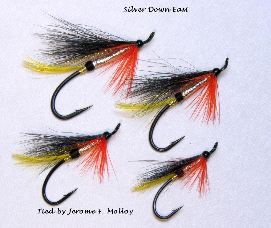Silver Down East | Salmon flies, Fly tying patterns Atlantic Salmon Fly Tying Patterns