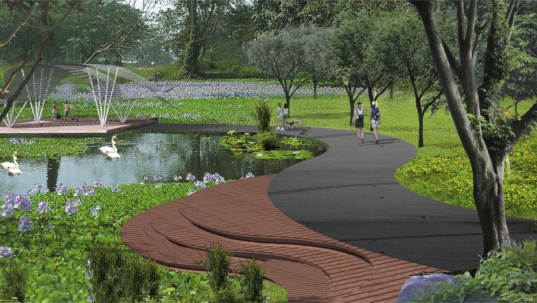 Planning Concept For A National Botanic Gardens Selangor Malaysia By Mace Studio Landscape Architecture Botanical Gardens Selangor
