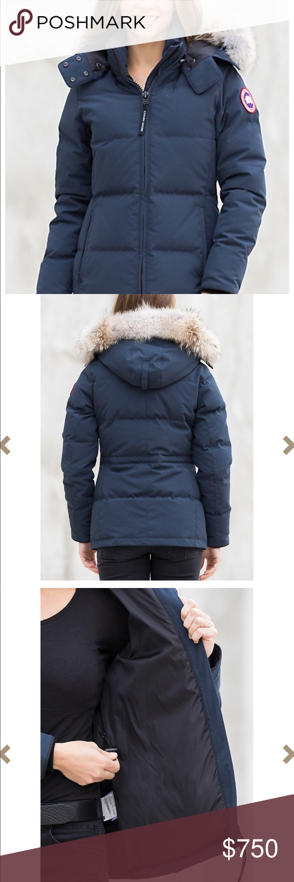 canada goose jacket too big