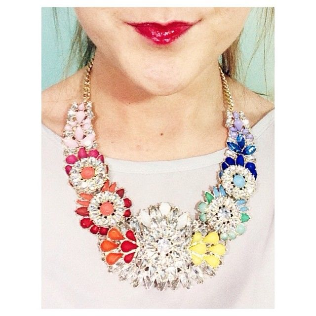 Gorgeous bib necklace from SarahBelle93x