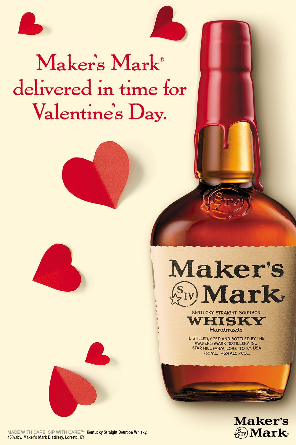 Need a lastminute Valentine's Day gift? Order a bottle of