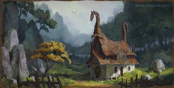 Dragon Valley Inn on Behance